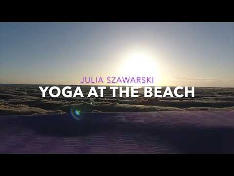 Yoga at the Beach (Drone fly!)