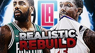 94 OVERALL SIGNING! CLIPPERS REALISTIC REBUILD! NBA 2K18 2017 Video