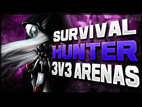 Survival hunter 3v3 PvP!! New Season New Beginning   WoW Patch 7.3.2