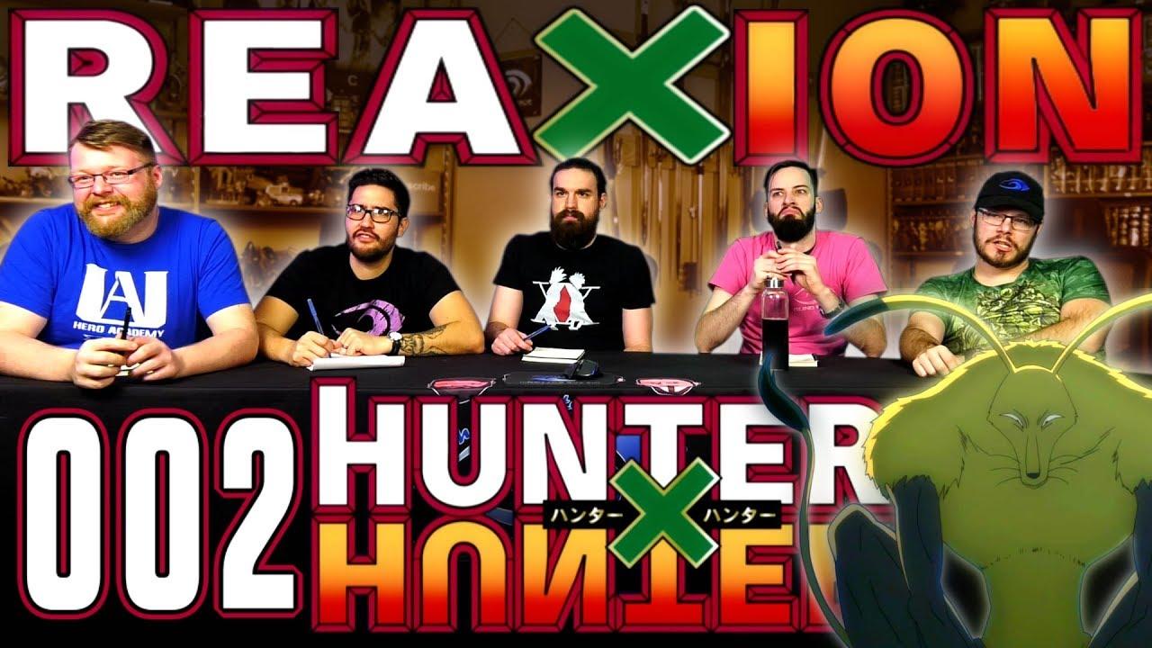 Hunter x Hunter #2 REACTION!!