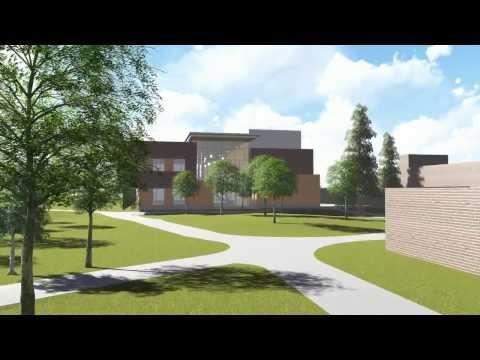 Bristol Community College New Building Artist Rendering