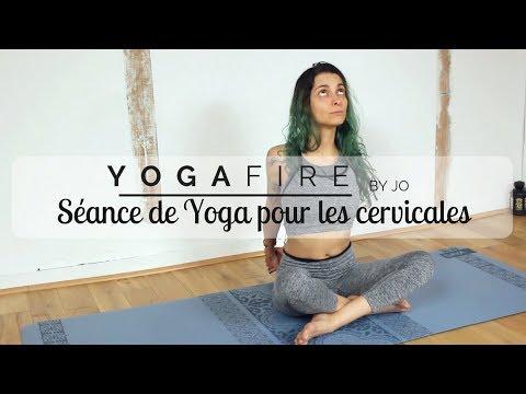 Séance de Yoga pour les cervicales - Yoga Fire By Jo