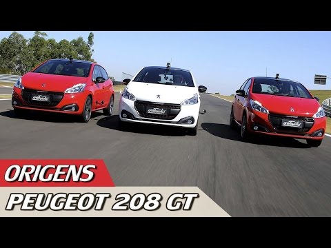 ORIGENS: PEUGEOT 208 GT + VOLTA RÁPIDA 205 GTI COM RUBENS BARRICHELLO #01 | ACELERADOS