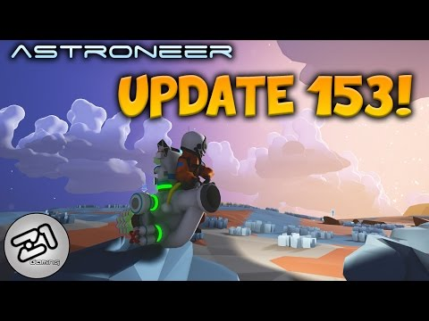 Astroneer Update 153  New Terrain Tool Augments !! Z1 Gaming