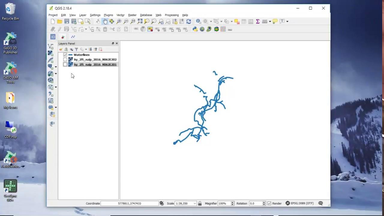 Create Offline Tiles using QGIS
