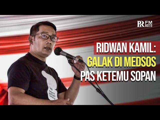 Netizen Indonesia Paling Tak Sopan se-Asia Tenggara, Ridwan Kamil: Level Kasarnya Luar Biasa