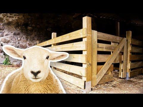 How To Make A Sheep Barn