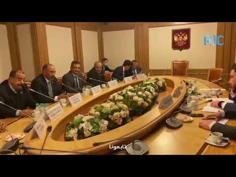 الرئيس الزُبيدي يلتقي رئيس لجنة الشؤون الدولية بمجلس النواب الروسي الدوما
