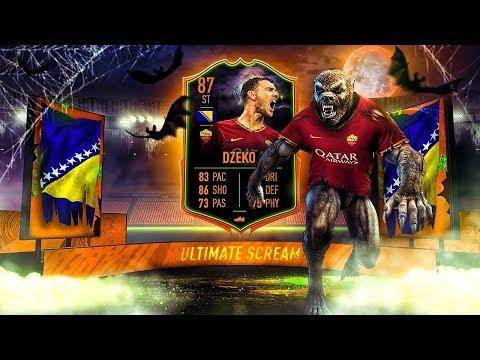 HOW TO UNLOCK SCREAM DZEKO?! 87 ULTIMATE SCREAM DZEKO PLAYER REVIEW! FIFA 20 Ultimate Team