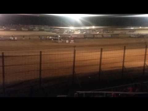 World of Outlaws Late Model 4 Wide Salute  Fayette County Speedway