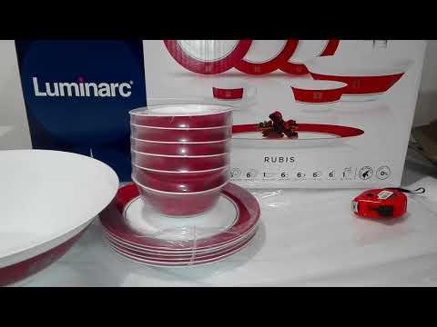 Сервиз столовый 46_пр Luminarc Rubis N4784 - ОБЗОР