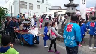 上富田町 朝来 櫟原神社秋祭り 宮入り❗
