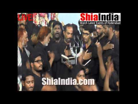 8th Muharram Anjuman-e-Shaida-e-Ali Asgher Matam 1437-2015-16