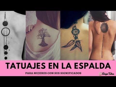 Los Mejores Tatuaje En La Espalda Para Mujer Con Significados Para