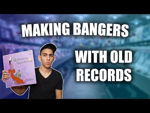 MAKING BEATS WITH OLD VINYL RECORDS - FL STUDIO BEATMAKING