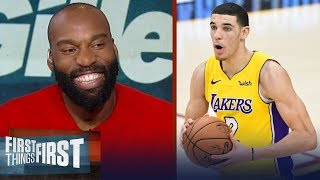 Baron Davis on the current state of the Los Angeles Lakers | FIRST THINGS FIRST