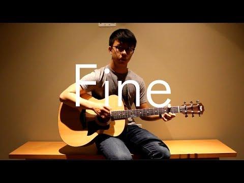 Taeyeon - Fine (Fingerstyle Guitar)