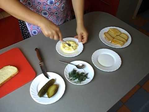 Бутерброд с маслом и сыром - калорийность, состав
