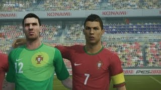 Pro Evolution Soccer 2013 - Lots of crazy goals (Gameplay 1080p - demo version)