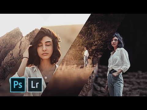 HOW I EDITED THESE PICTURES | Photoshop & Lightroom Tutorial thumbnail