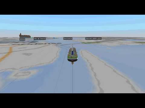 Simulation of pile logistics in an offshore wind project