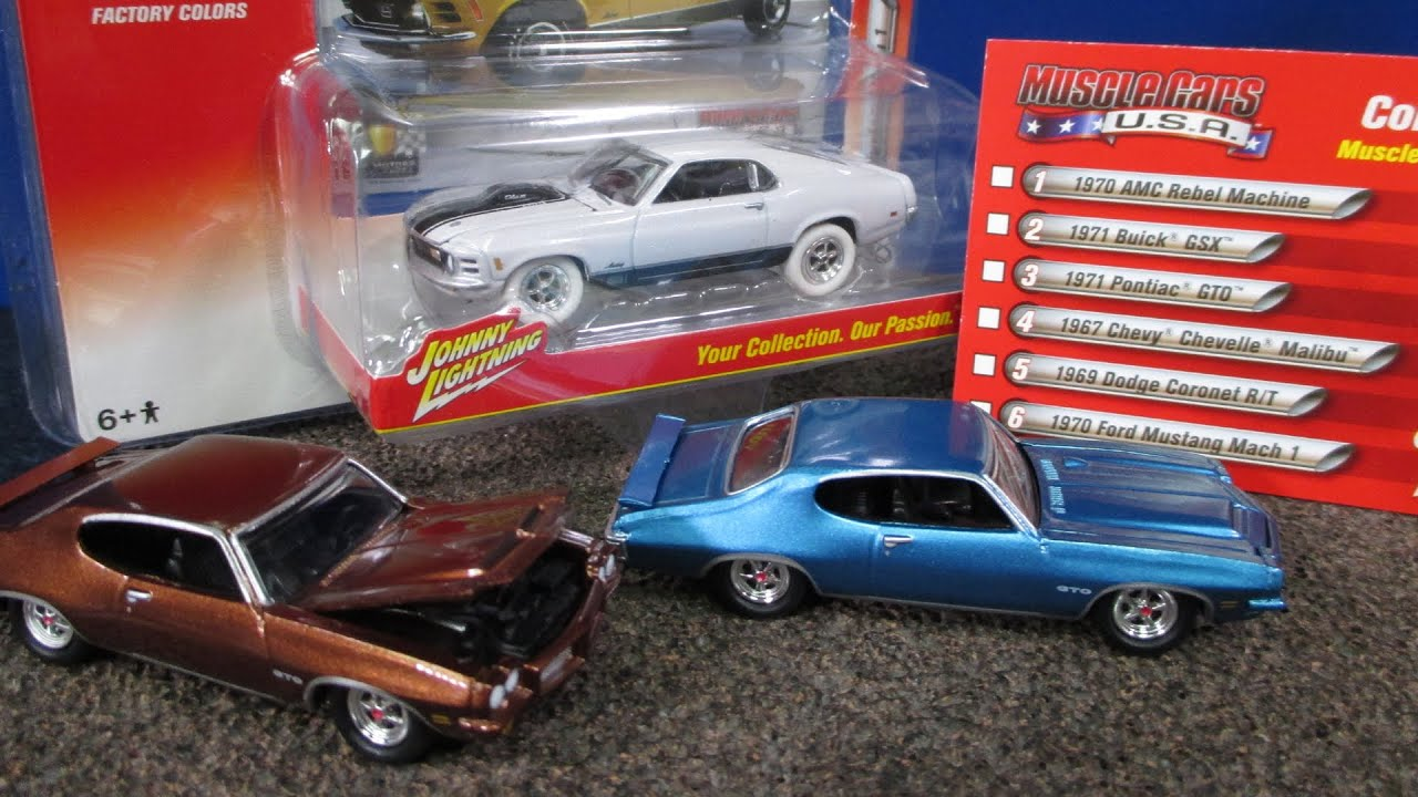 Johnny Lightning Muscle Cars Usa Release A B With Chase