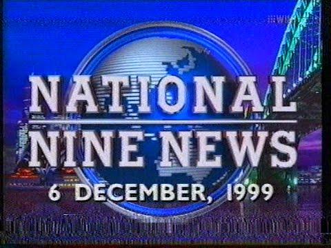 National Nine News Sydney - Full Bulletin (6.12.1999)