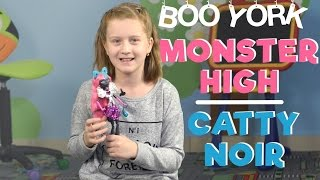 Монстер Хай Кэтти Нуар из мьюзикла «Бу Йорк» — обзор куклы
