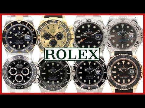 ▶ Rolex COMPARISON Submariner, GMT, Deepsea, Yacht-Master, Daytona, Explorer II