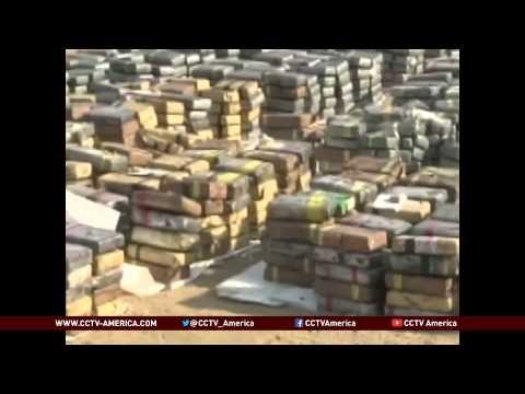 Peru drug bust: Police find cocaine on coal ship