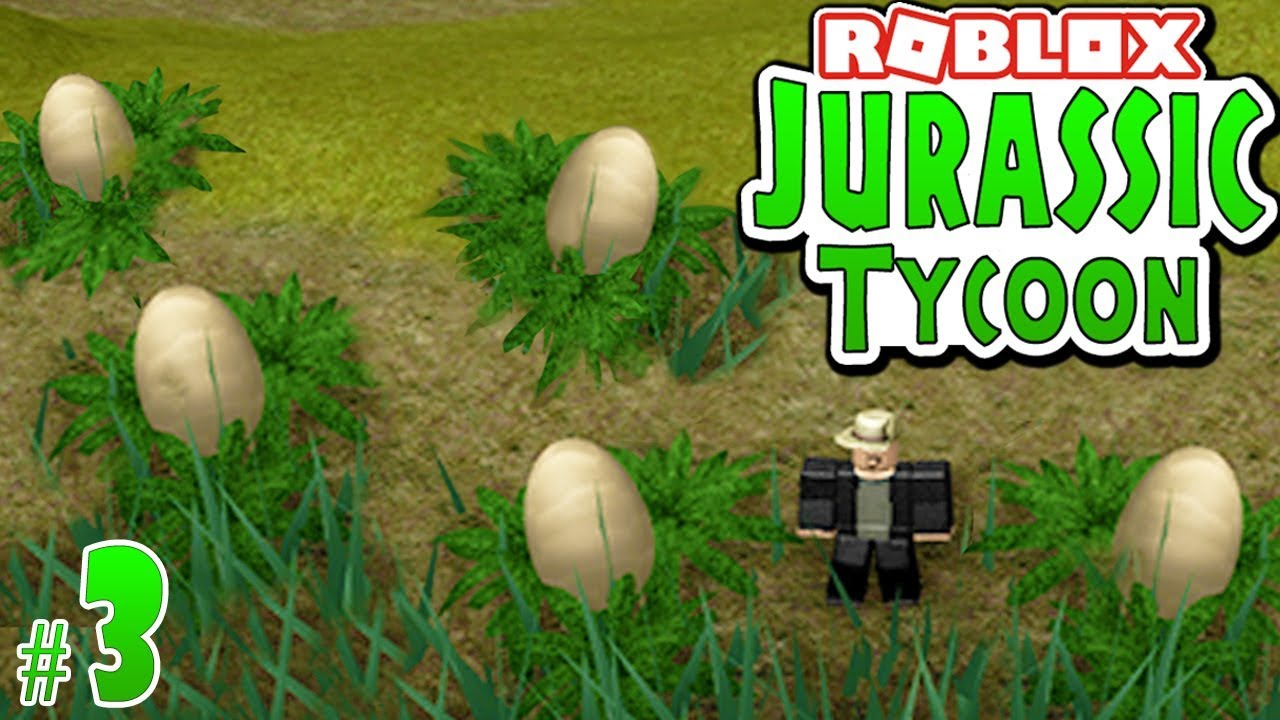 Egg Quest All Locations In Jurassic Tycoon 3 Roblox Youtube