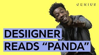 panda desiigner reads all the lyrics