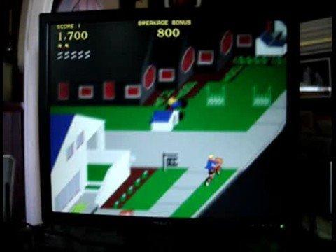 Paperboy 1984 Atari (Original Arcade Version) EASY STREET NAILED!!