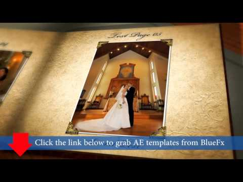 Photo Slideshow After Effects Template - Grab from BlueFx, Videohive, and Revostock