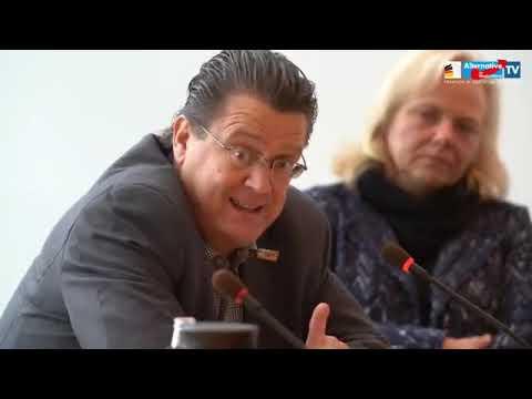AfD PK. Presse stellt Fragen an Herrn Stephan Brandner (AfD), AfD Fraktion antwortet. 12.11.2019