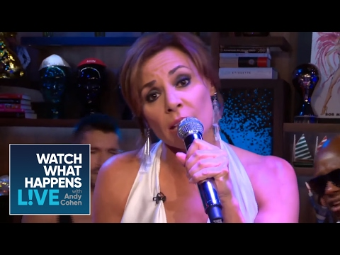 Countess LuAnn de Lesseps' Debut Performance of Her New Real Housewives Single 'Girl Code' - WWHL