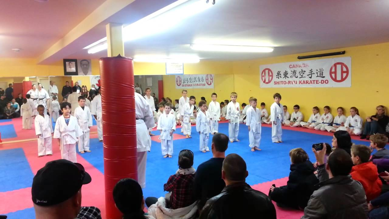 Liam karate kata ceinture blanche - YouTube 7778ae51a59