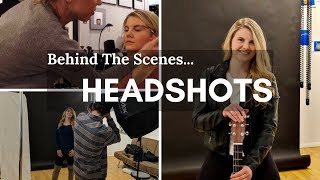 Headshots - Behind the Scenes