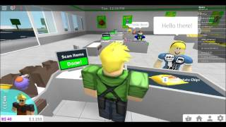 Doing casual things in roblox bloxburg