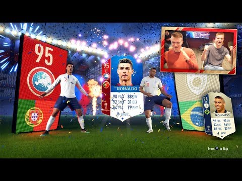 FIFA 18 WORLD CUP: Cristiano Ronaldo, R9 & 10 ICONS IN PACKS