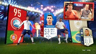FIFA 18 WORLD CUP: Cristiano Ronaldo, R9 & 10 ICONS IN PACKS!! WORLD CUP PACK OPENING