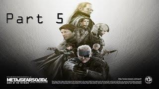 Metal Gear Solid 4 Guns of the Patriots Часть 5 Осьминог