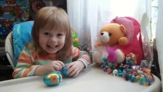Шоколадное яйцо. Маленькие магнитики. Детские магнитики. Обзор шоколадных яиц.