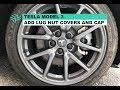 Tesla Model 3 - Add Lug Nut Covers and Center Wheel Cap