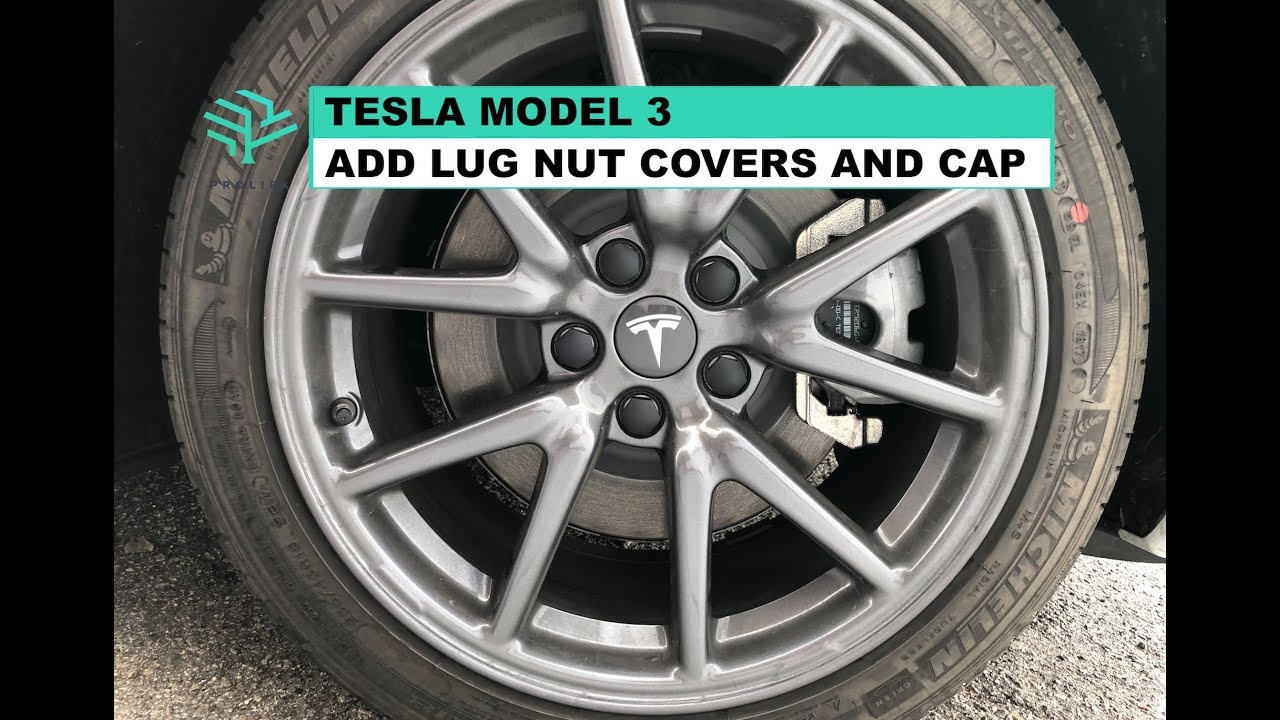 Aero Wheel Cap Kit for Tesla Model 3 /& S /& X