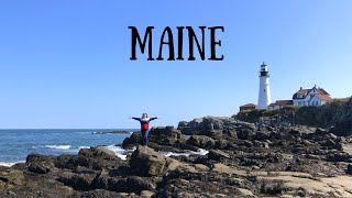 Coastal Maine Road Trip | Portland to Bar Harbor