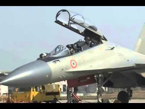 Su-30 MKI JOINT FLYING BY INDIAN & RUSSIAN PILOTS