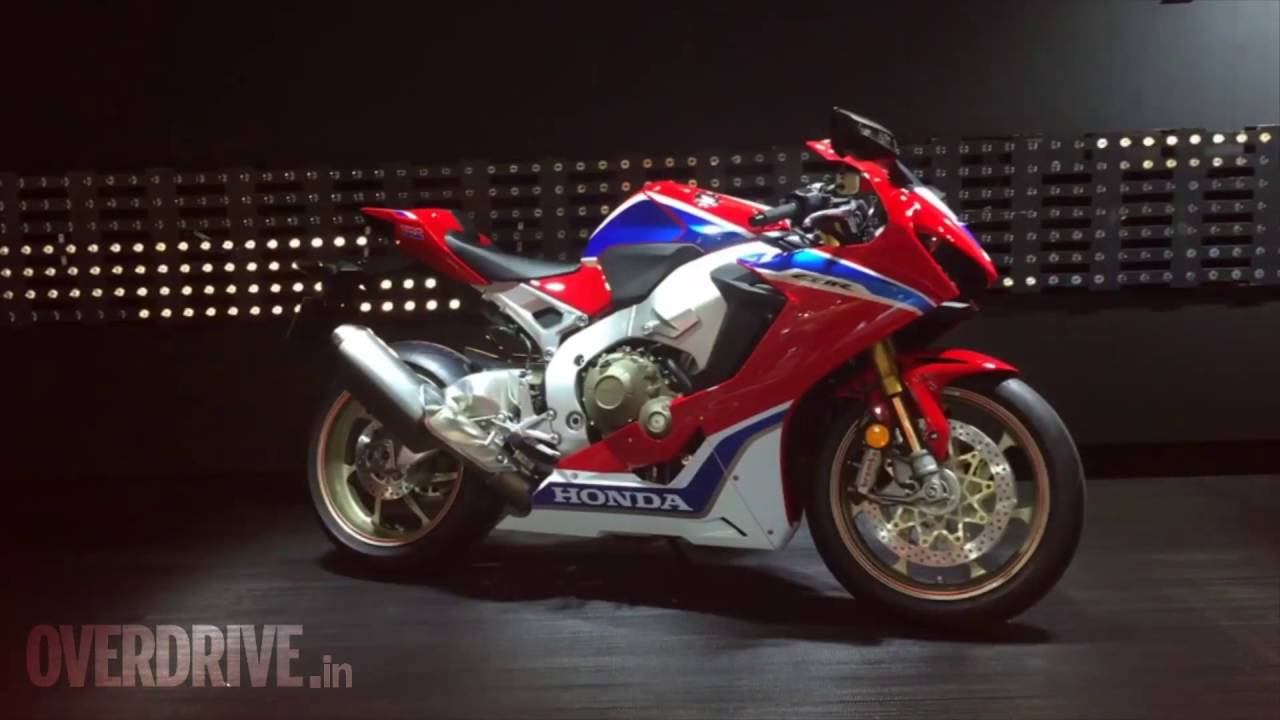 First Look All New Honda Fireblade Cb1000rr Sp And Sp2 Showcased