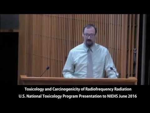 Cell Phone Radiation Cancer Study: U.S. National Toxicology Program Presentation to NIEHS June 2016.