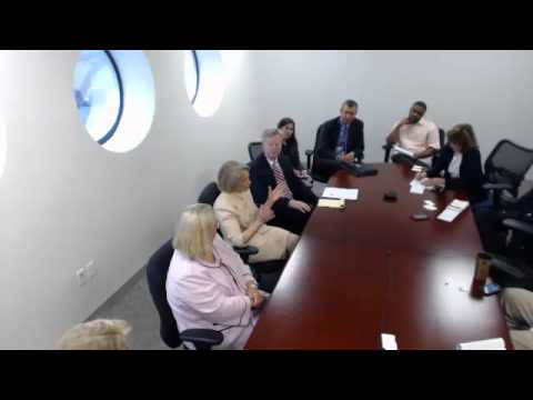 Editorial Board meets with reps from CT Hospital Association , Yale New Haven Health Systems